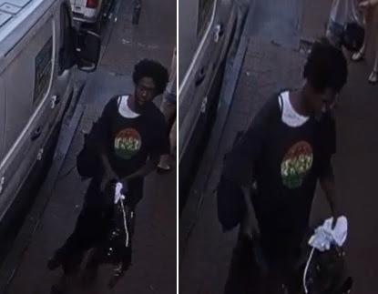 Suspect Wanted in Auto Burglary on Bourbon Street